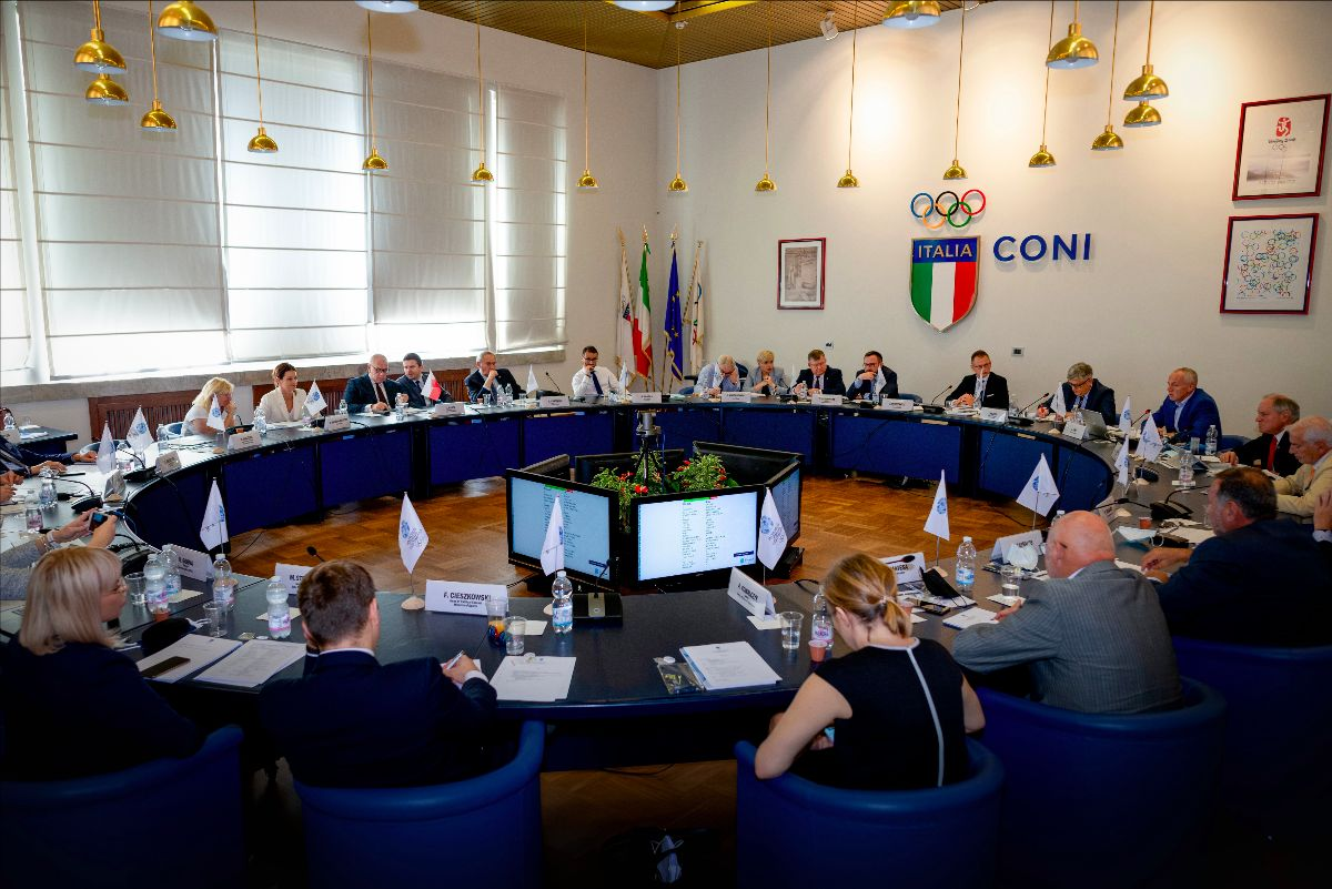 The preliminary sport programme was agreed at a meeting in Rome ©EOC
