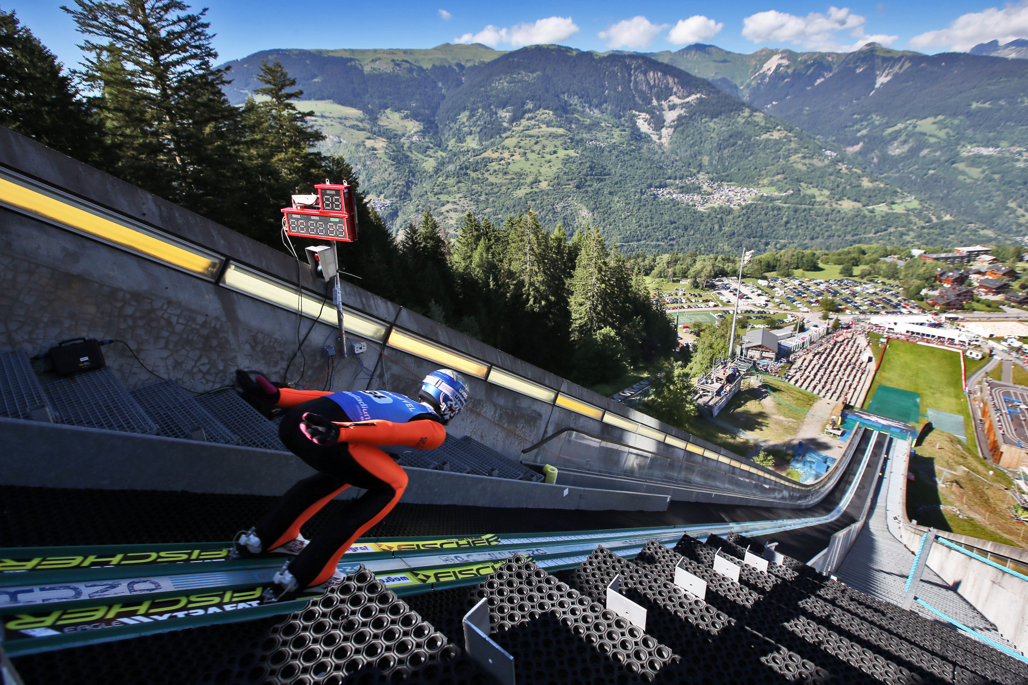 The summer version of ski jumping has been proposed to appear ©Getty Images