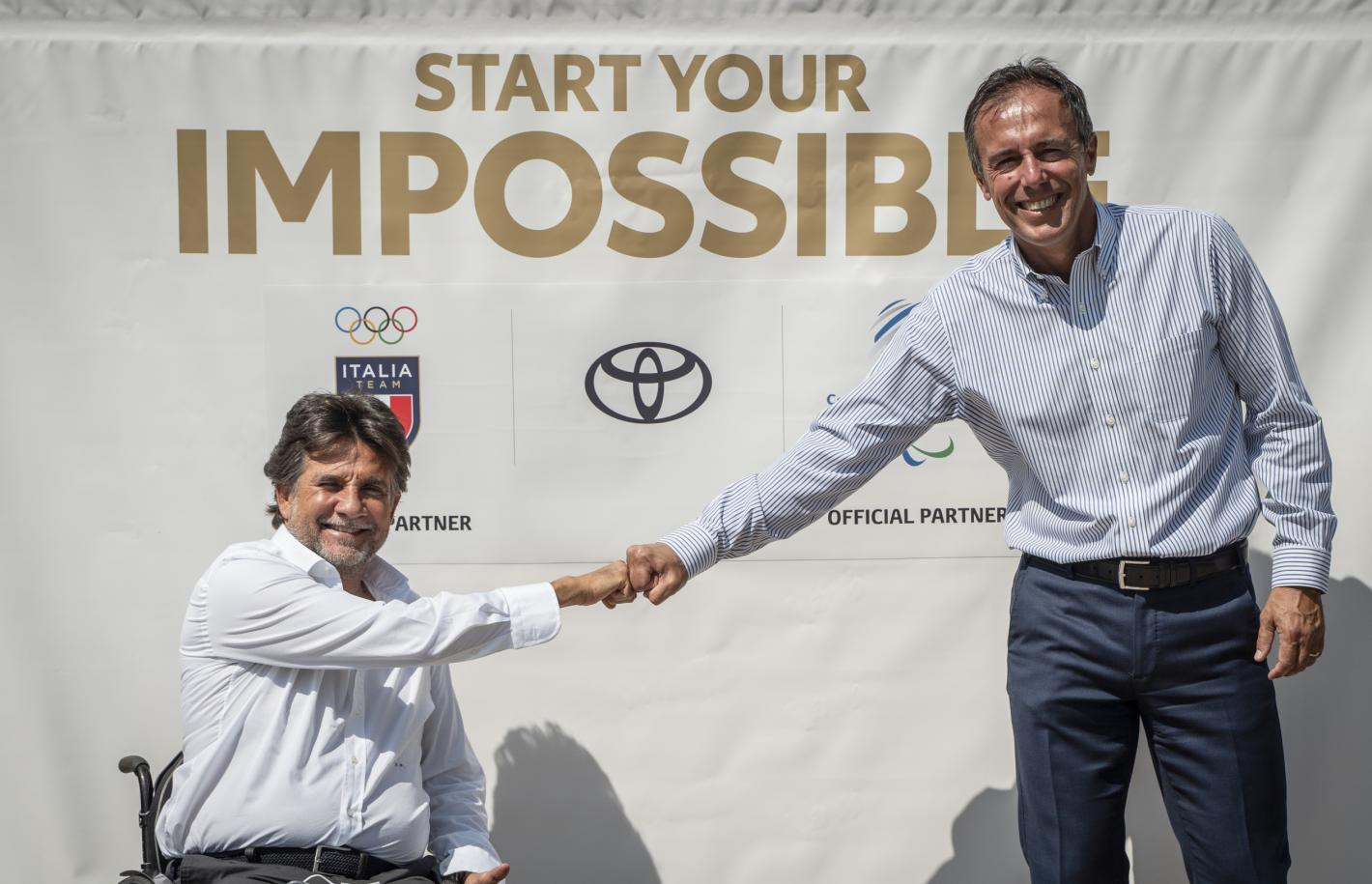 Italian Paralympic Committee renew partnership with Toyota
