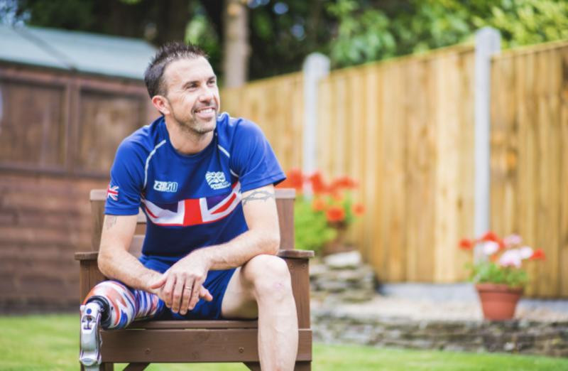 Paralympic gold medallist Lewis retires from triathlon to launch mental health business