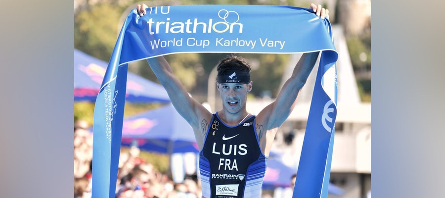 Luis and Duffy win at ITU World Cup leg in Czech Republic