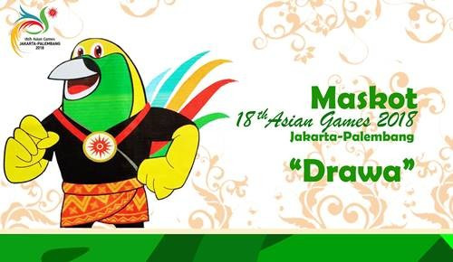 Derawan, mascot for the 2018 Asian Games, is to be redesigned following public criticism ©OCA