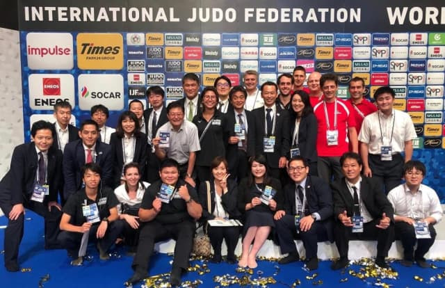The Tokyo 2020 judo organising team say they are enjoying the extra preparation time afforded by the 12 month postponement of the Games ©IJF