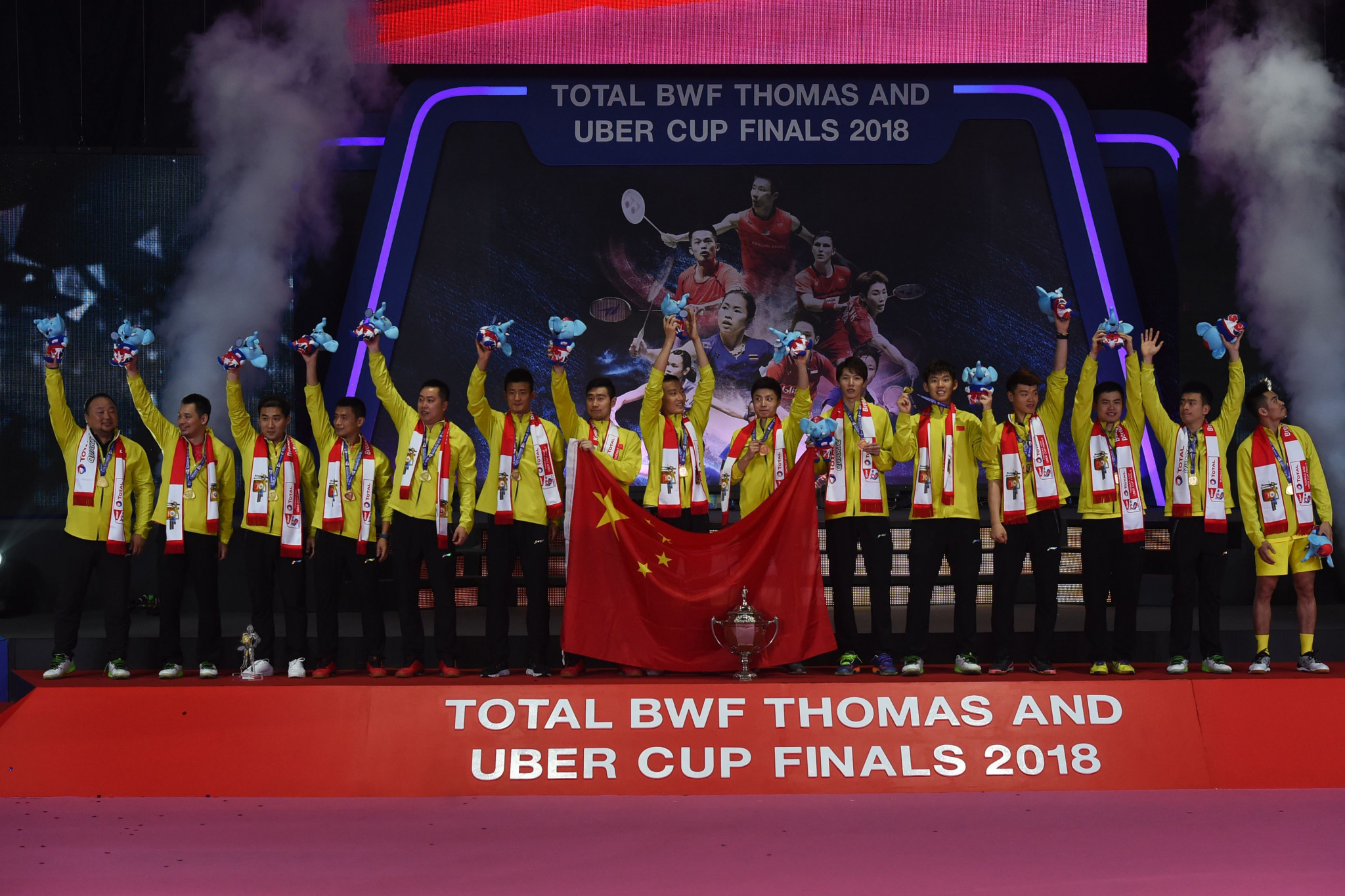 The Thomas and Uber Cup finals reportedly face postponement for a third time ©Getty Images