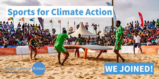FITEQ become signatory of UNFCCC's Sports for Climate Action initiative
