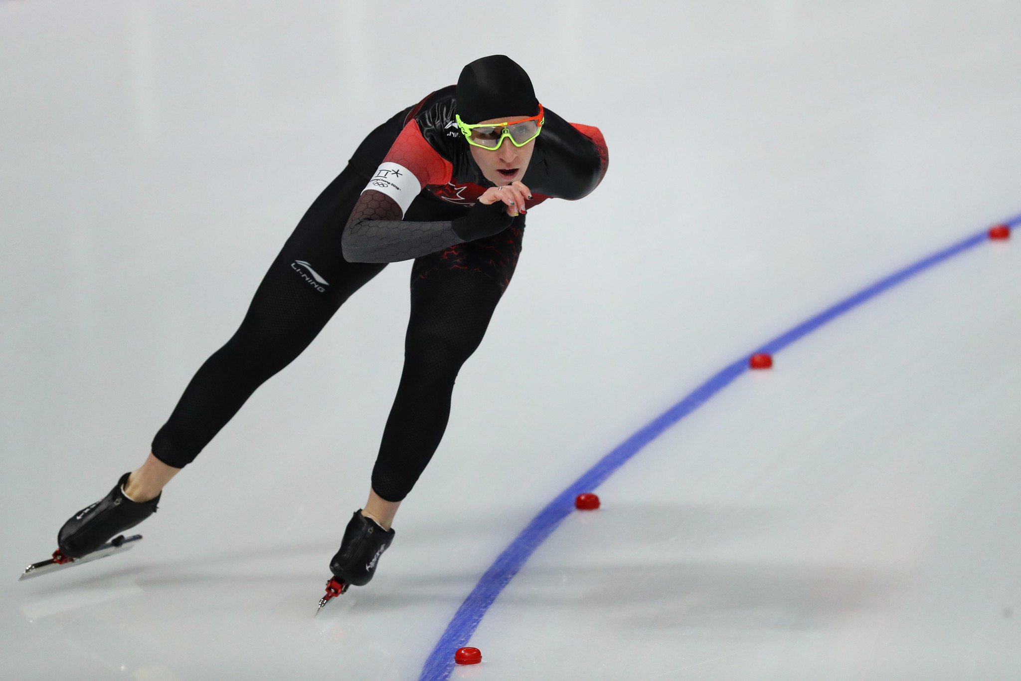 Ivanie Blondin claimed the Catriona Le May Doan Award for the fifth time ©Getty Images