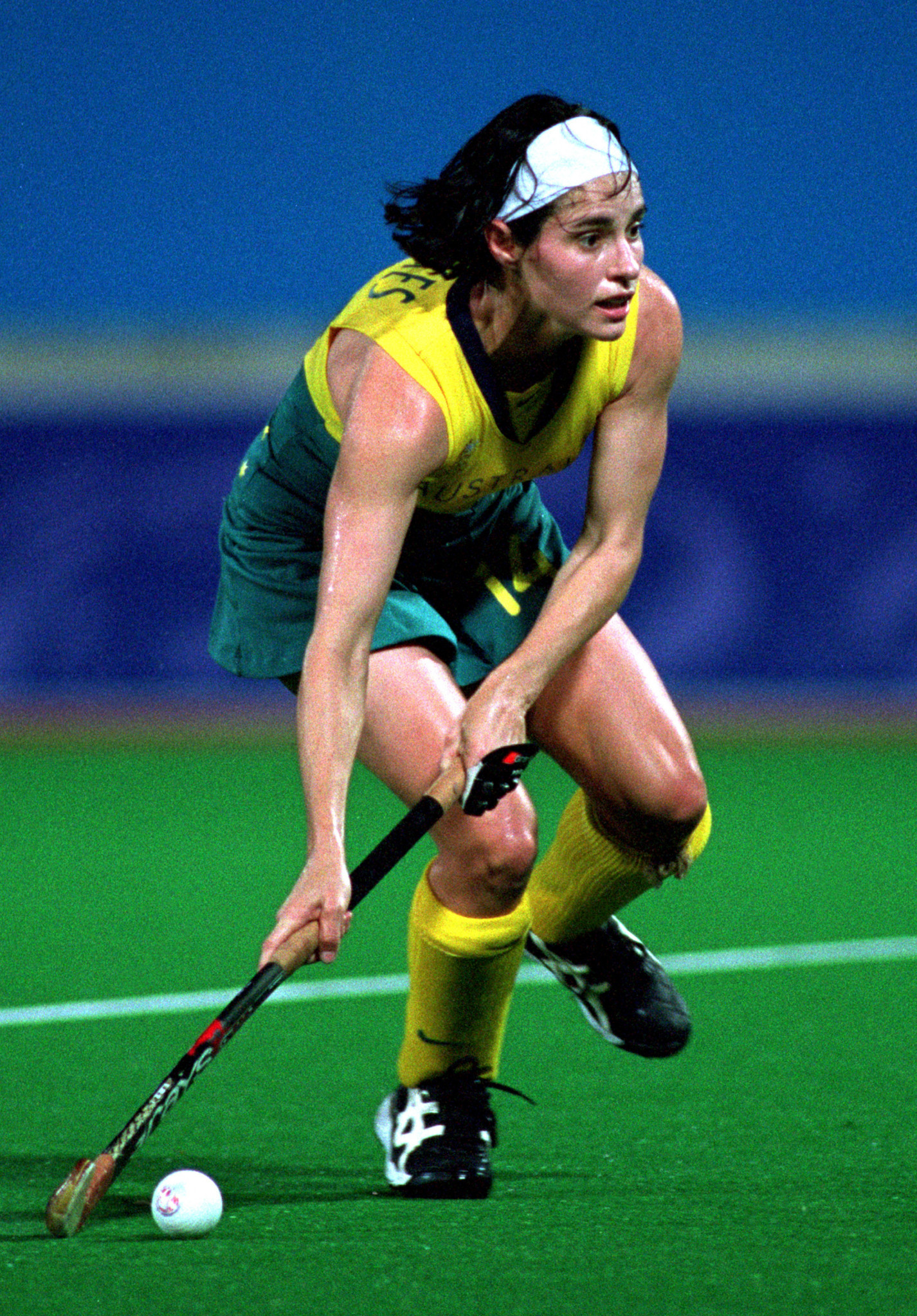 Rechelle Hawkes won her third Olympic gold medal in Sydney ©Getty Images