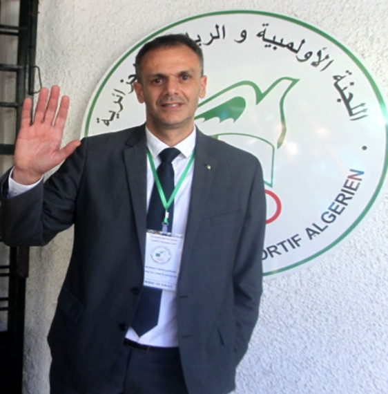 Abderrahmane Hammad has been elected Algerian Olympic Committee President ©COA