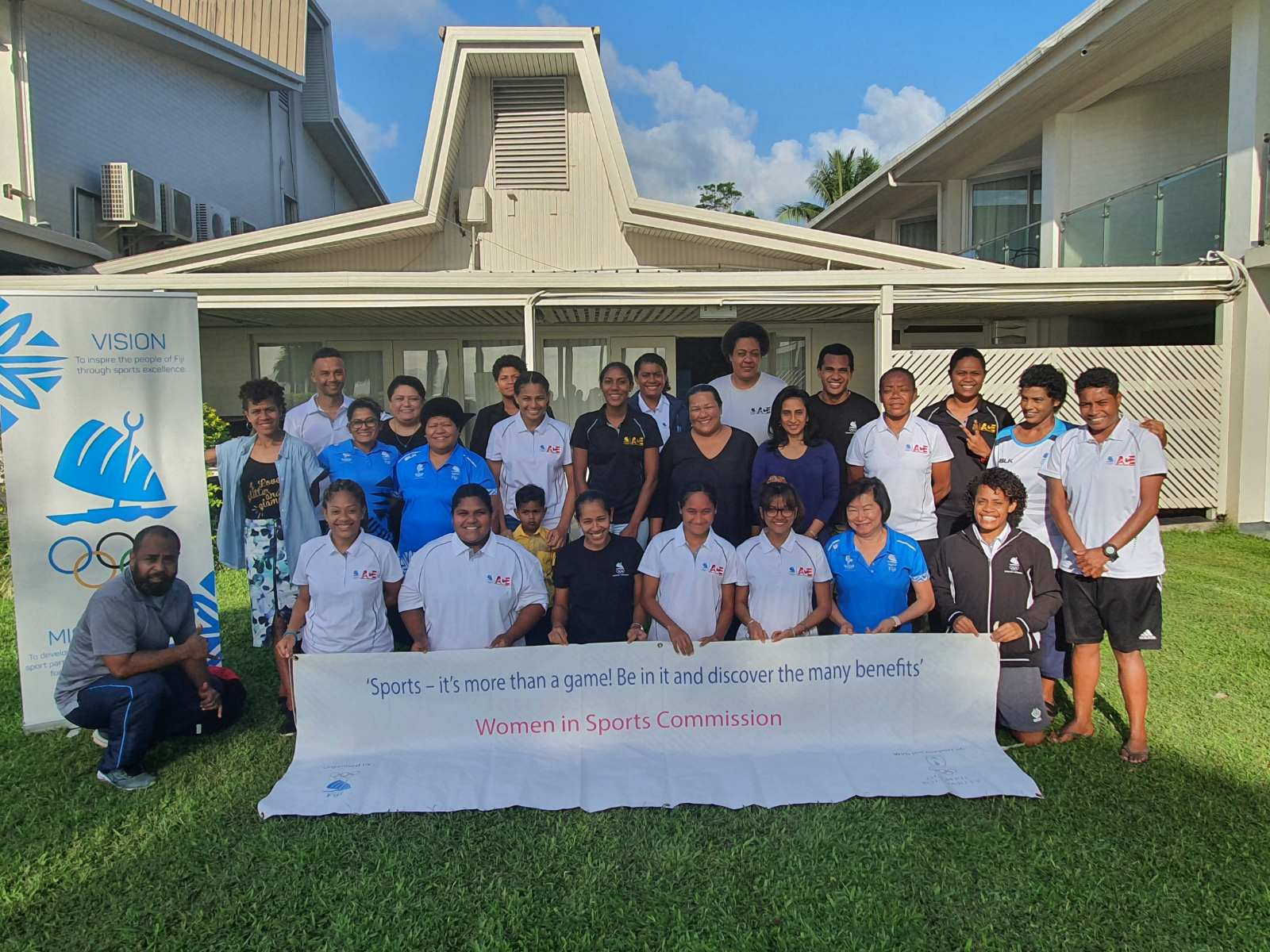 FASANOC's Women in Sport Commission has held workshops on gender-based violence ©FASANOC