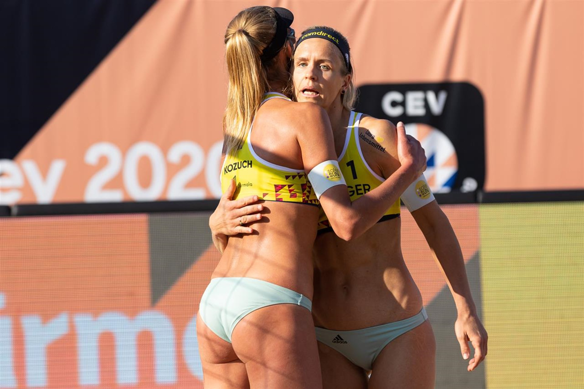 Olympic champion Ludwig and Kozuch win opener at European Beach Volleyball Championships