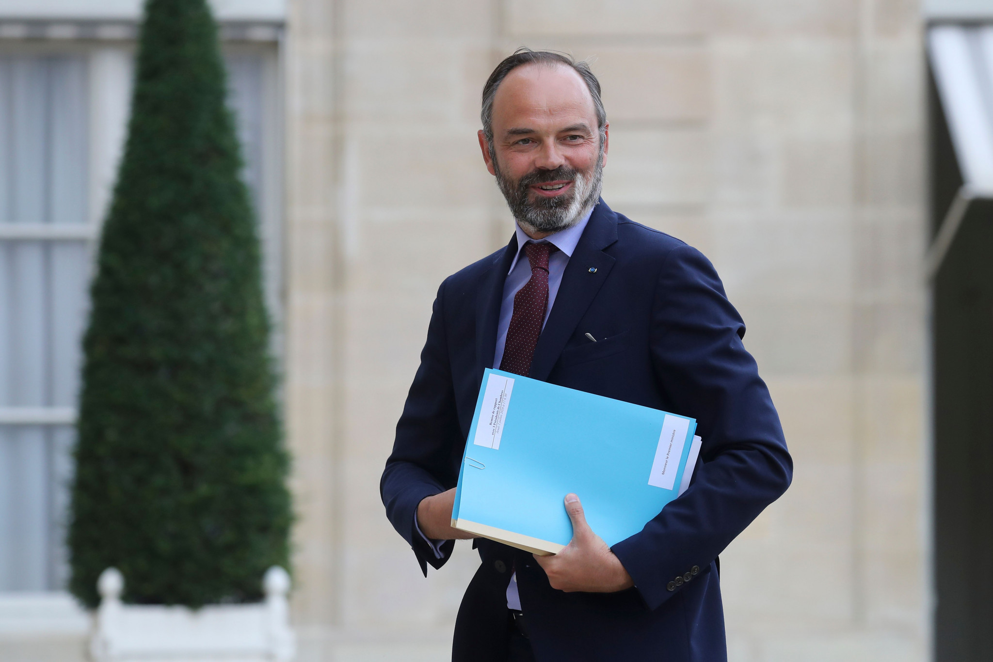 Former French Prime Minister Edouard Philippe is set to join the board of Atos, an IOC sponsor ©Getty Images