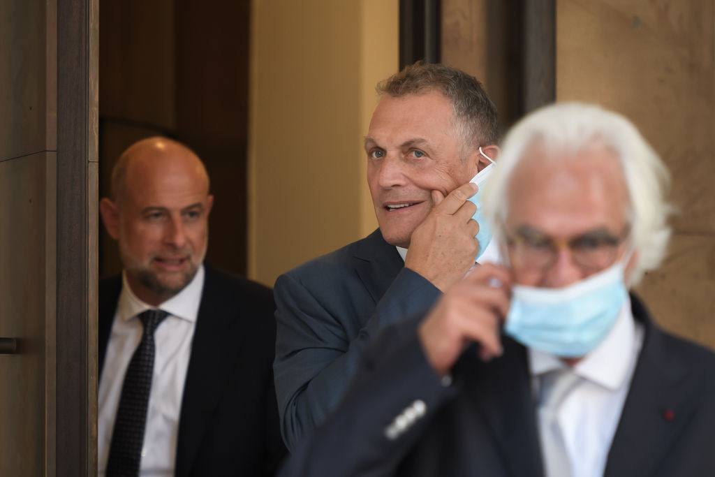 Jérôme Valcke spoke of his financial difficulties during the second day of the trial in Switzerland ©Getty Images