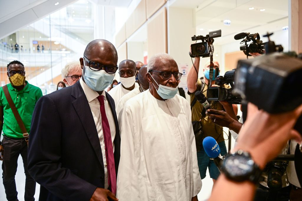 The disgraced former IAAF President Lamine Diack was found guilty and sentenced to two-years in prison by a court in Paris of accepting bribes to cover up Russian doping offences ©Getty Images