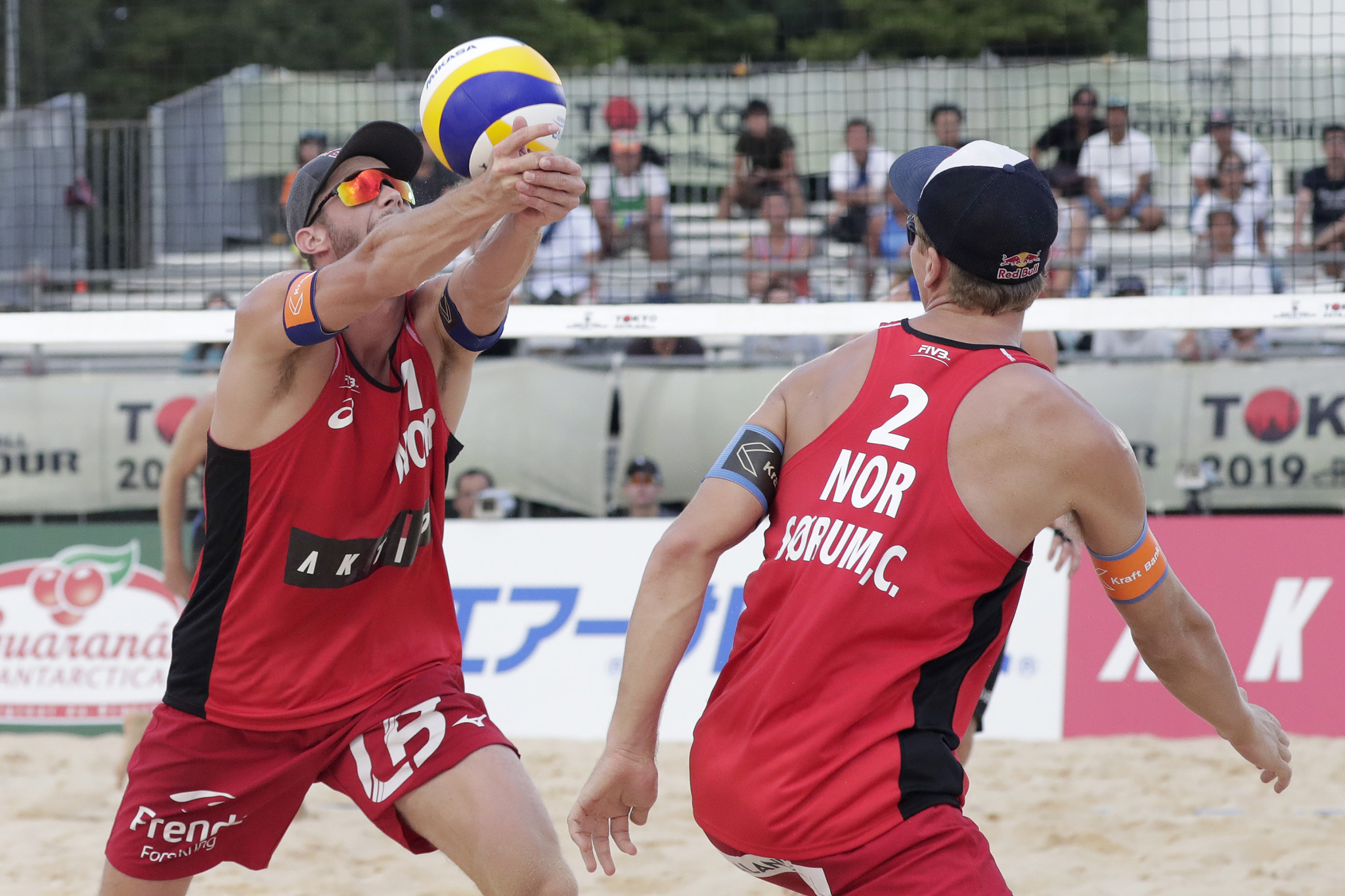 Mol and Sørum get European Beach Volleyball Championships title defence underway with victory