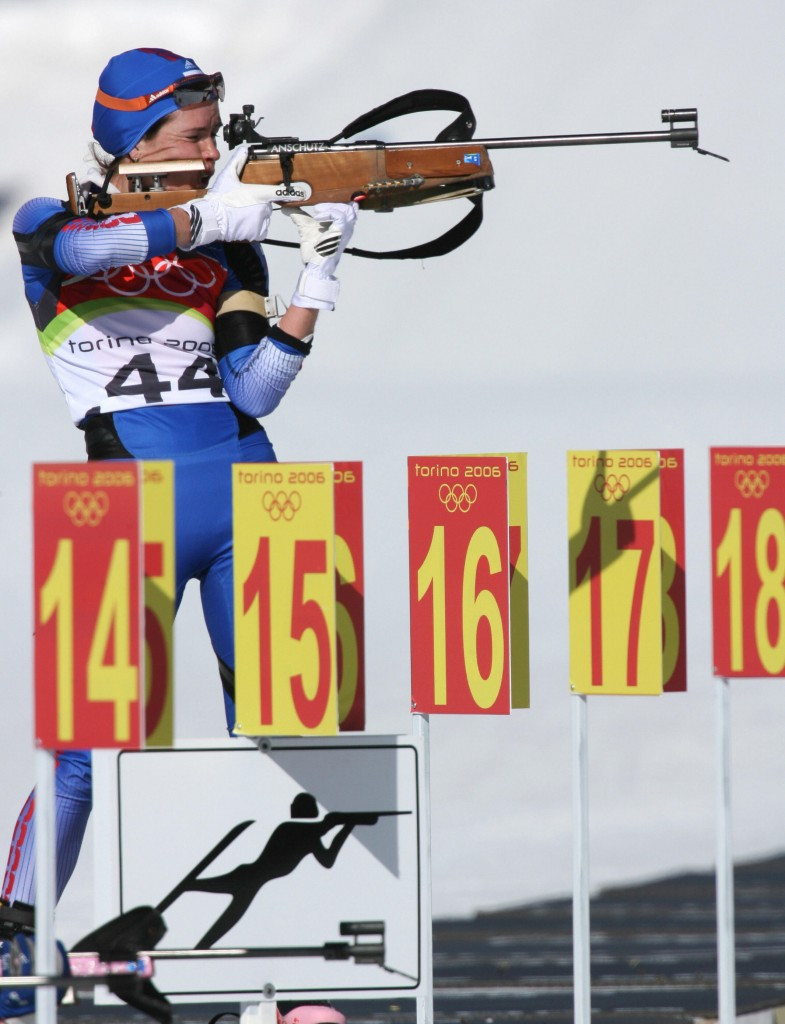 Russian skier Olga Pyleva was the only athlete to fail a test during the Turin 2006 Games, although seven Austrians were retrospectively disqualified ©Getty Images
