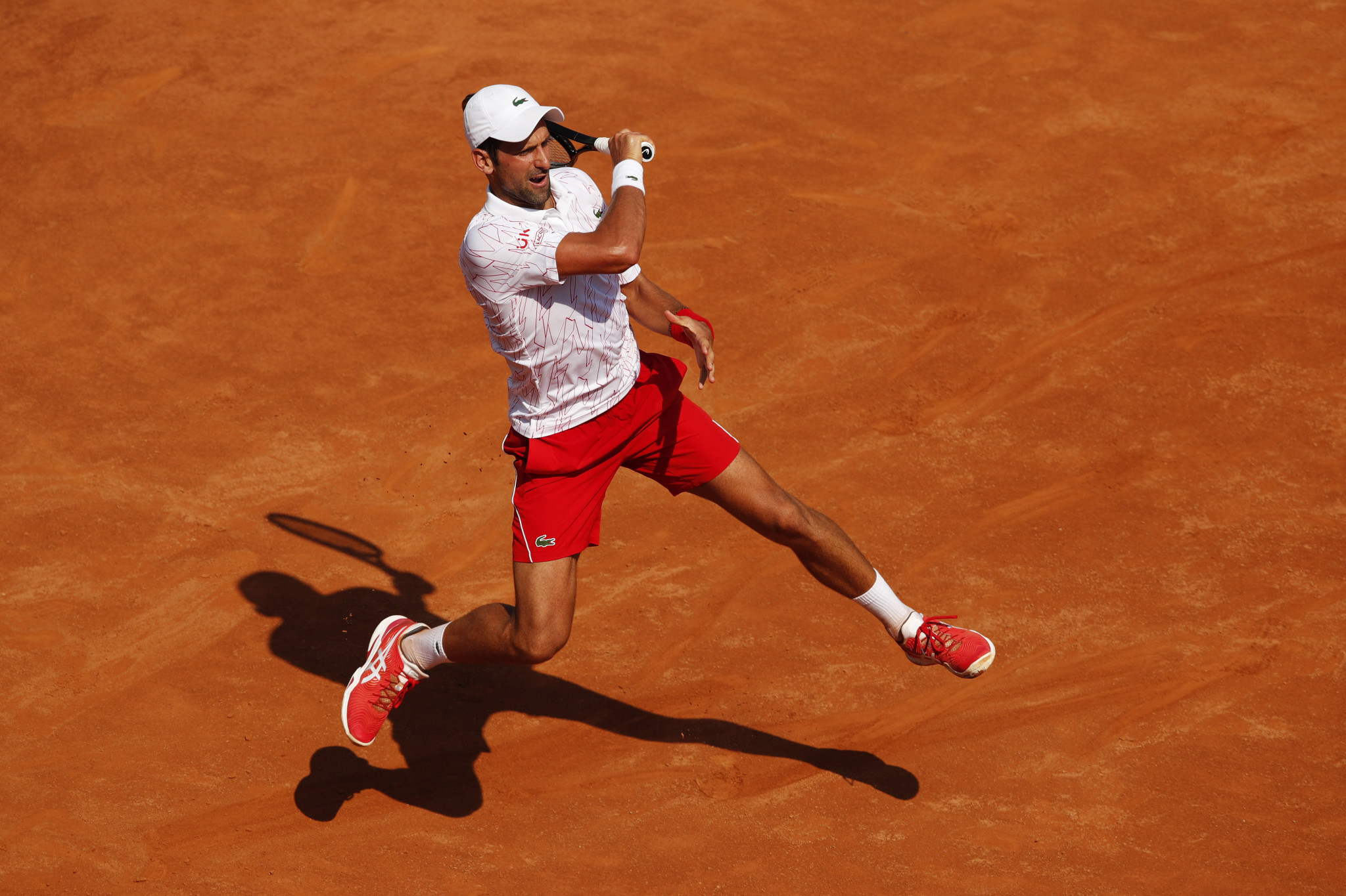 Djokovic wins first match since US Open disqualification as top seeds victorious in Rome