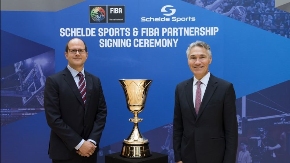 FIBA extend deal with Schelde Sports until Paris 2024