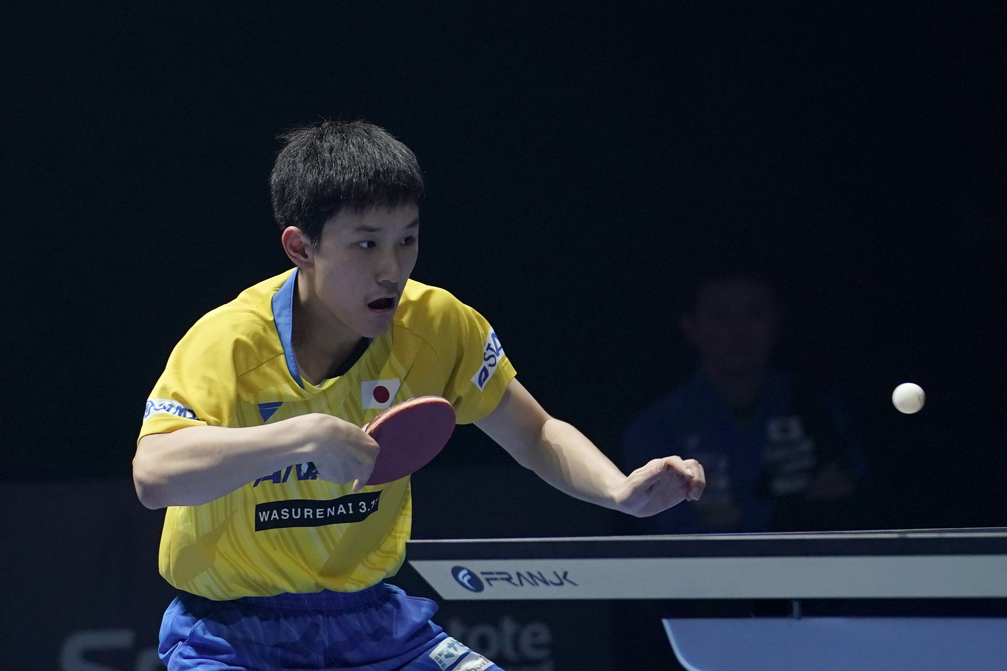 Tomokazu Harimoto played in his first competition since the suspension of sport ©Getty Images