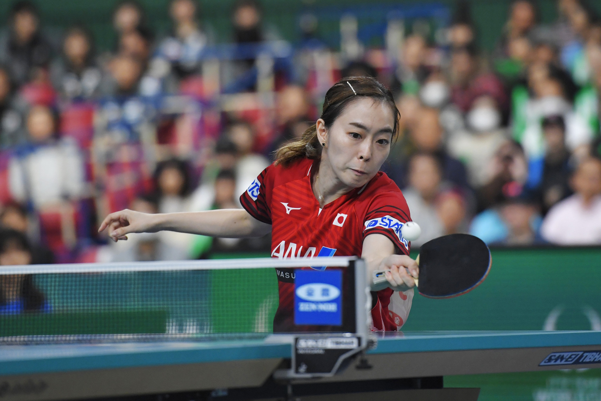Two-time Olympic medallist Ishikawa Kasumi also played at the tournament ©Getty Images