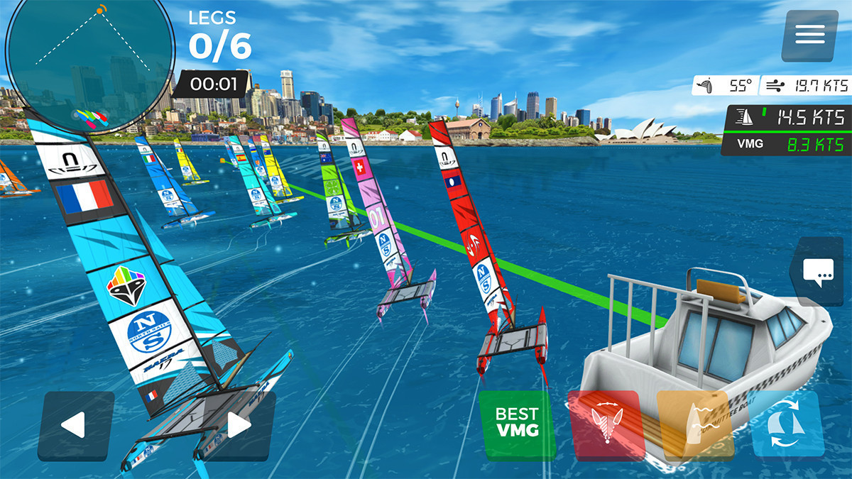 eSailing is said to be rapidly growing in popularity ©World Sailing