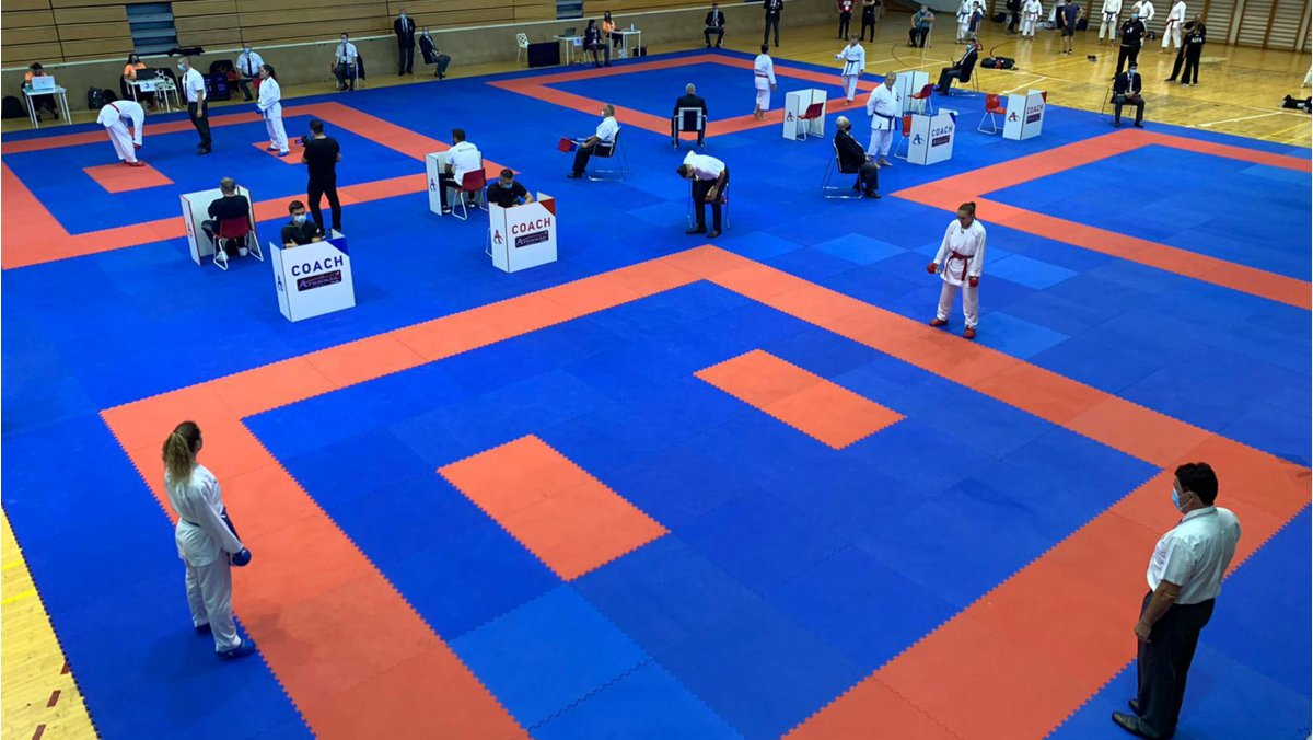 Croatian Karate Union hold first event under coronavirus regulations