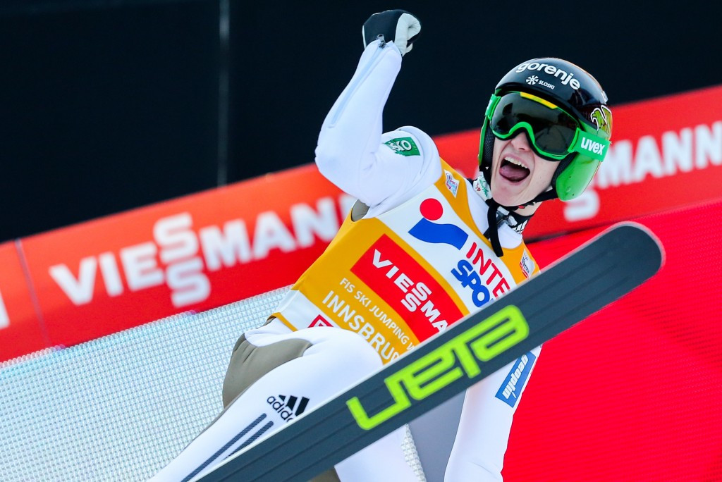 Prevc closes on overall Four Hills tournament victory after triumph in Innsbruck