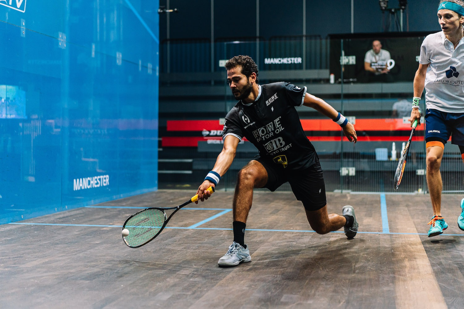 World number three Gawad survives scare in round one of PSA Manchester Open