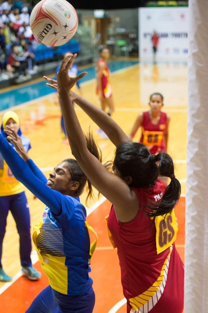 Sri Lanka won the Asian Youth Championships in Hong Kong, beating 53-48 Malaysia in the final ©Netball Asia