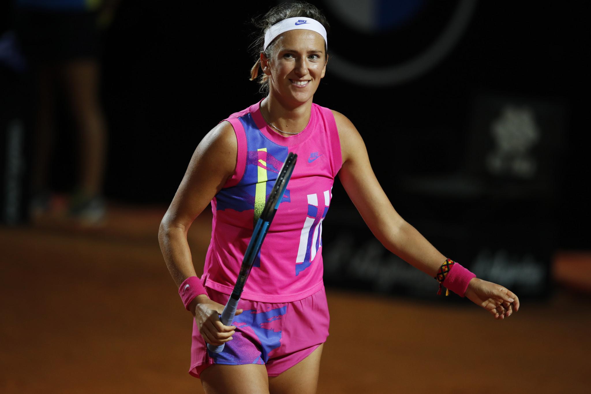 Azarenka beats Kenin to love to reach round three at Italian Open