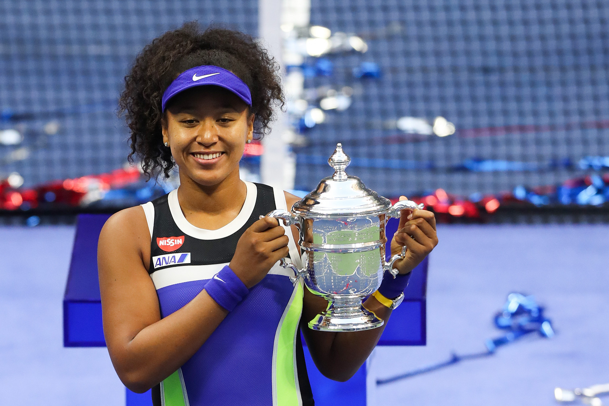 Naomi Osaka has impressed Billie Jean King with her efforts on and off the court ©Getty Images