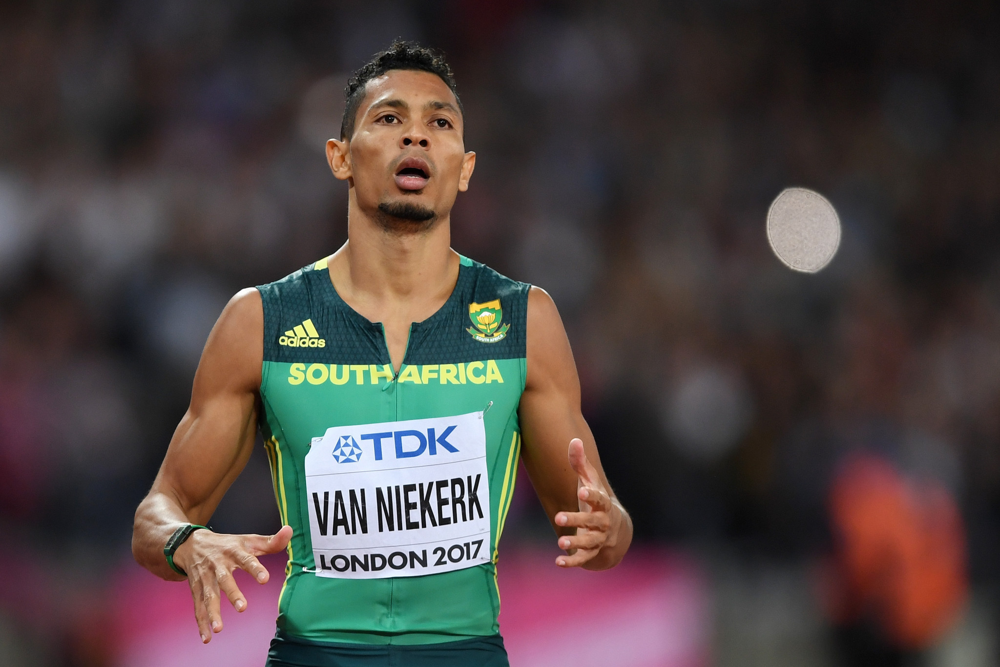 "Van Niekerk ""comfortable and confident"" over Olympic title defence after return to competition"