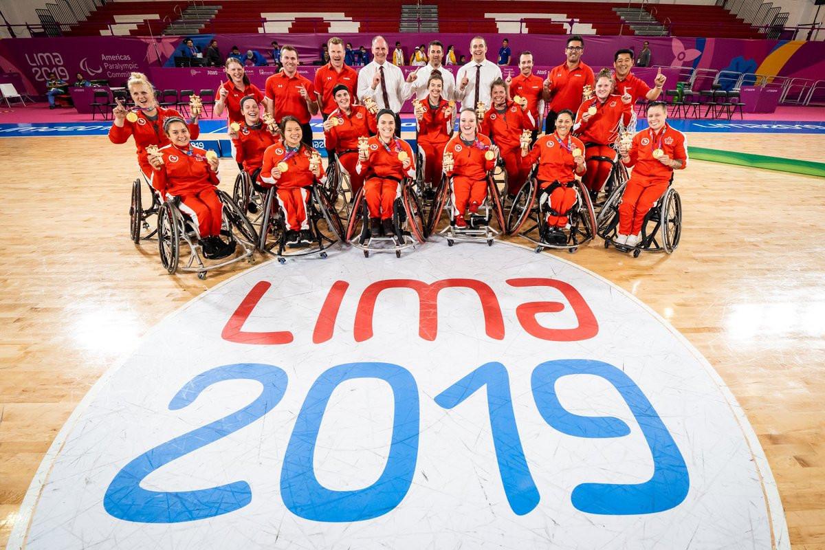 Canada went unbeaten at Lima 2019 ©Twitter/WheelchairBballCAN