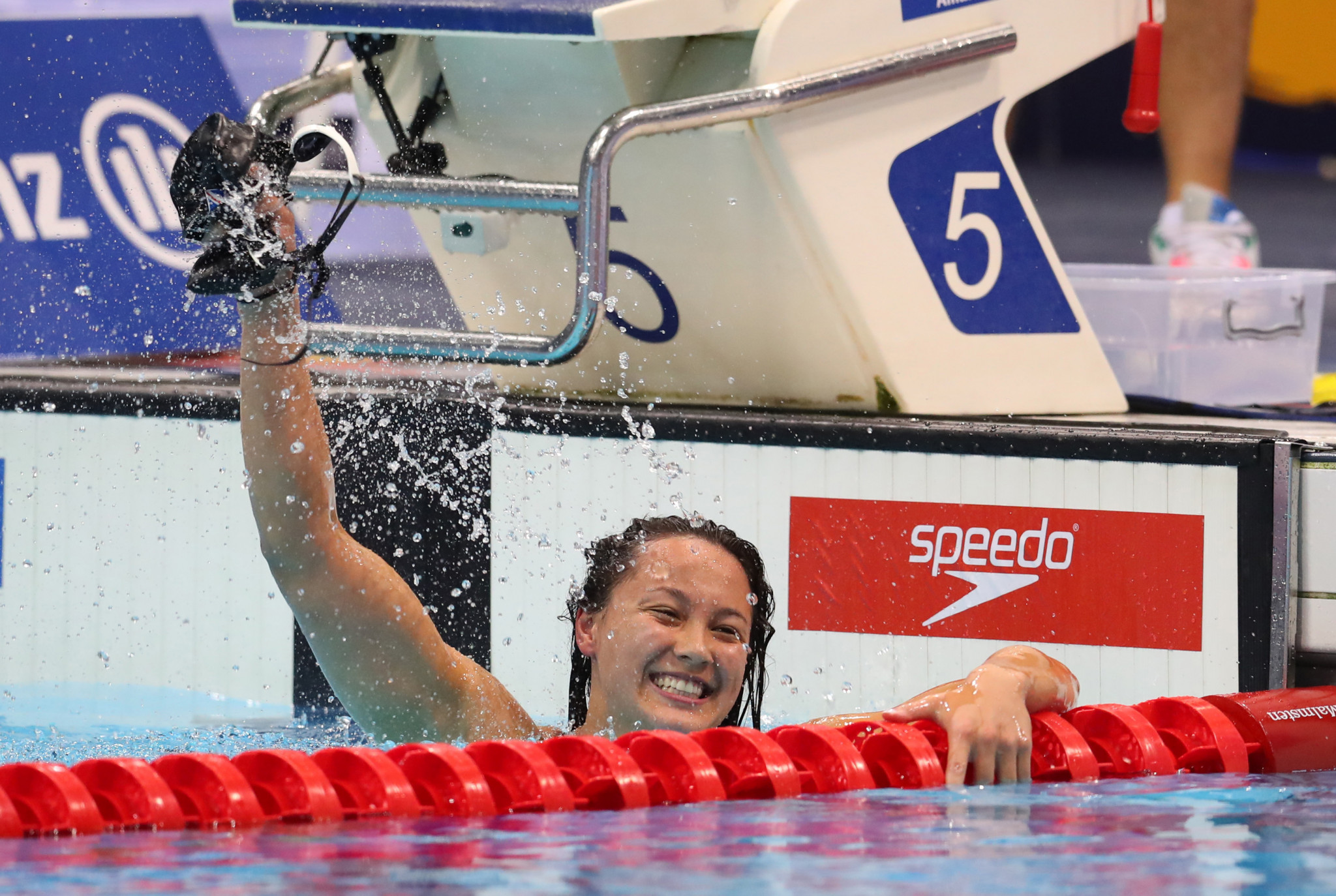 Britain's Alice Tai broke six world records at the SSE last year ©Getty Images