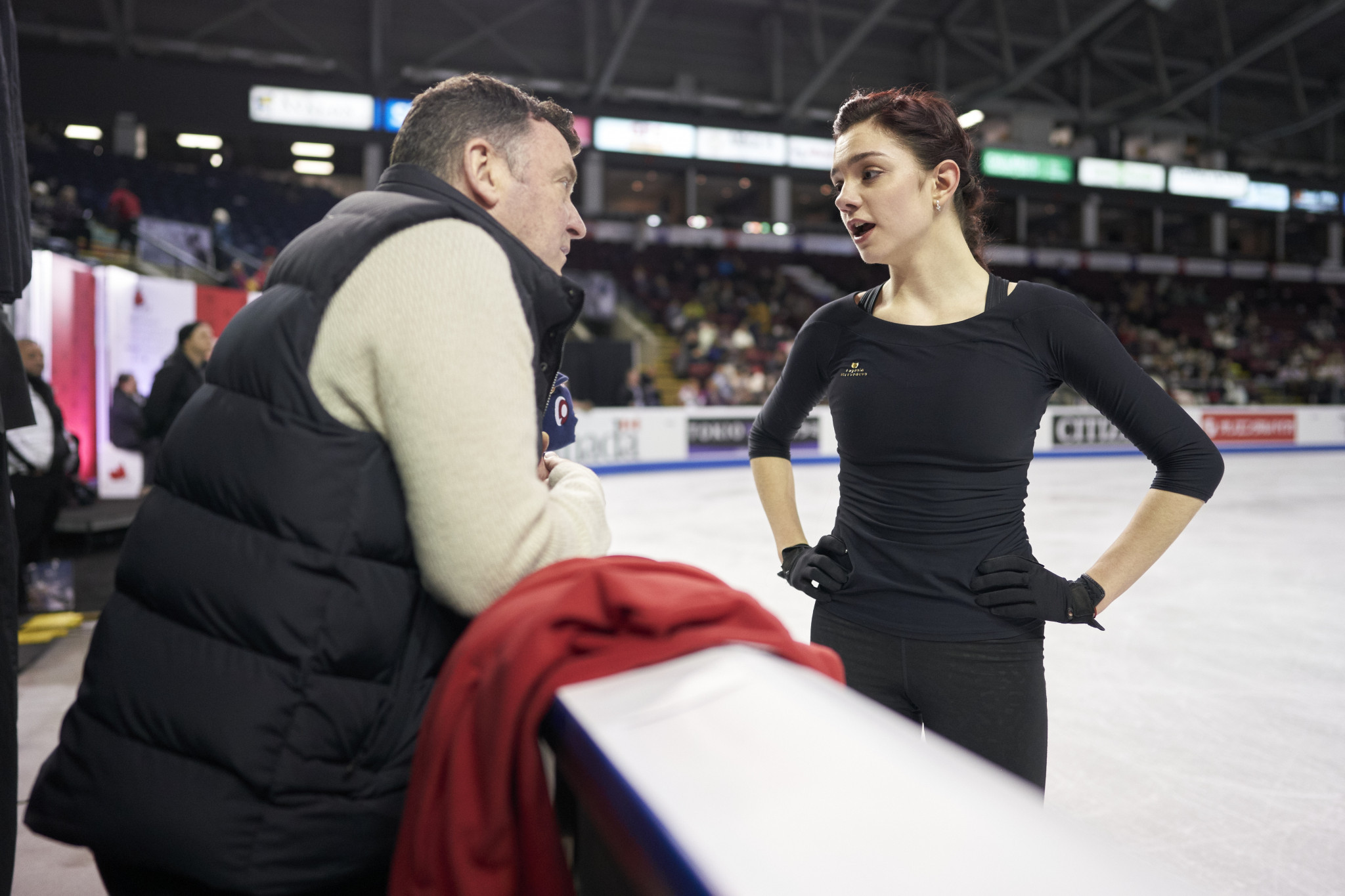 Evgenia Medvedeva had been coached by Brian Orser ©Getty Images