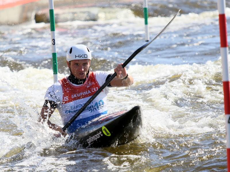 Czech stars begin strongly at Canoe Slalom European Championships