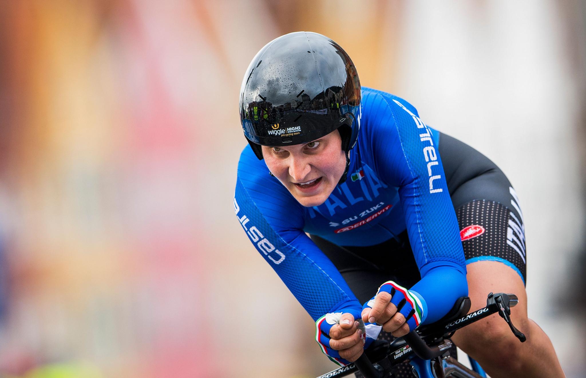 Borghini wins eighth stage of Giro Rosa as Van der Breggen takes leader's jersey