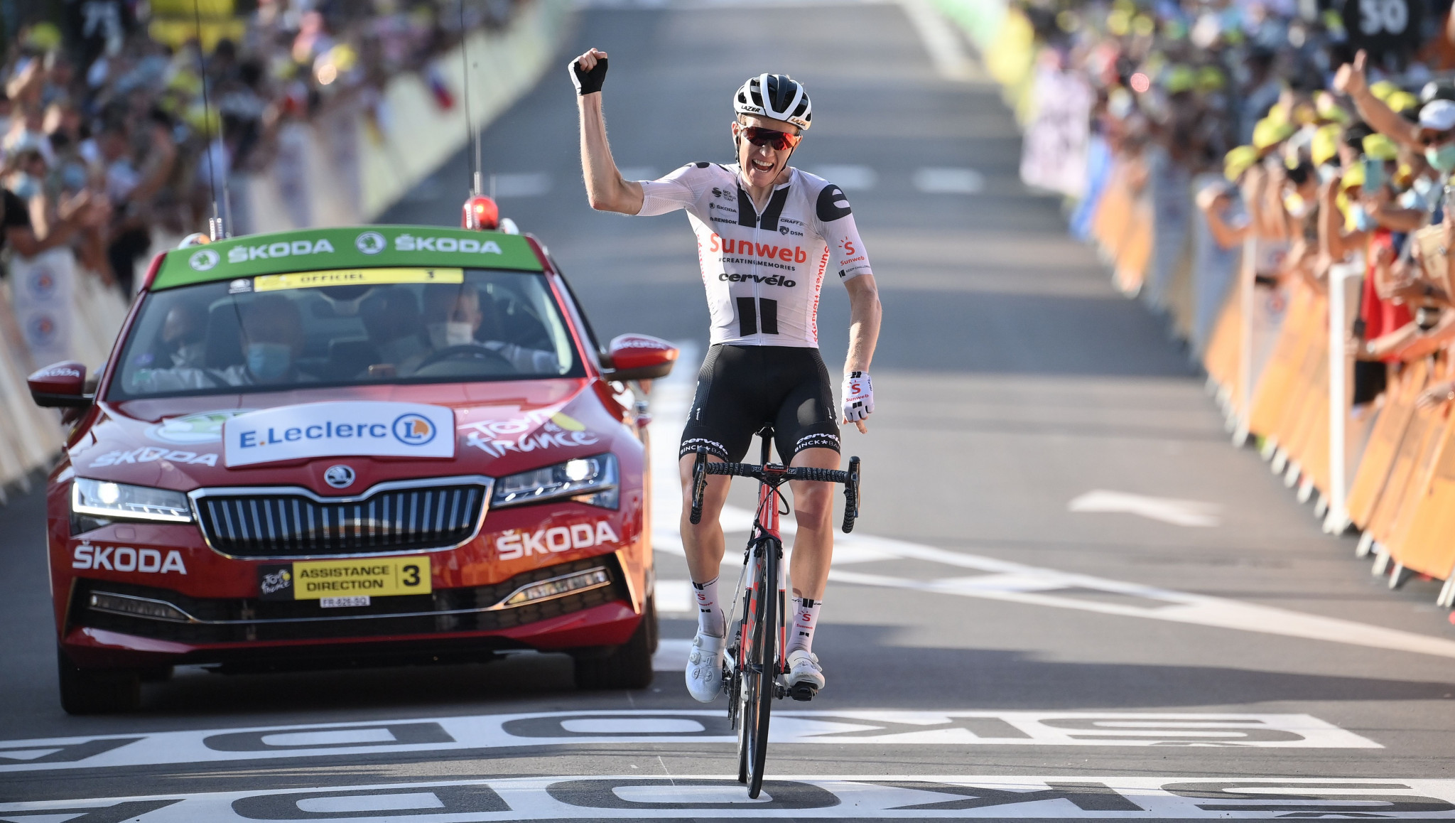 Andersen escapes again to secure second Tour de France stage victory