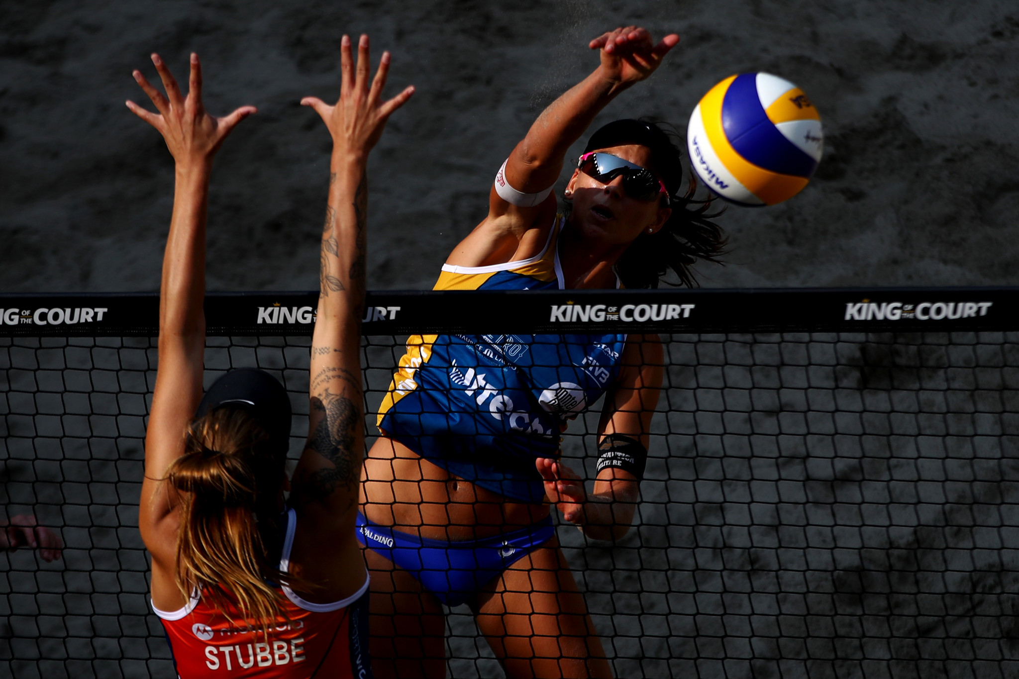 Defending women's champions knocked out of European Beach Volleyball Championships