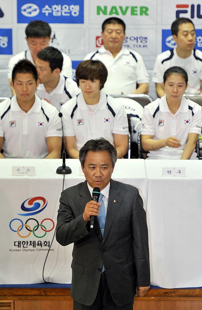 IOC는 한국 정부의 간섭 혐의에 대한 우려를 표명하는 KSOC 국장에게 편지를 보냈습니다. © Getty Images