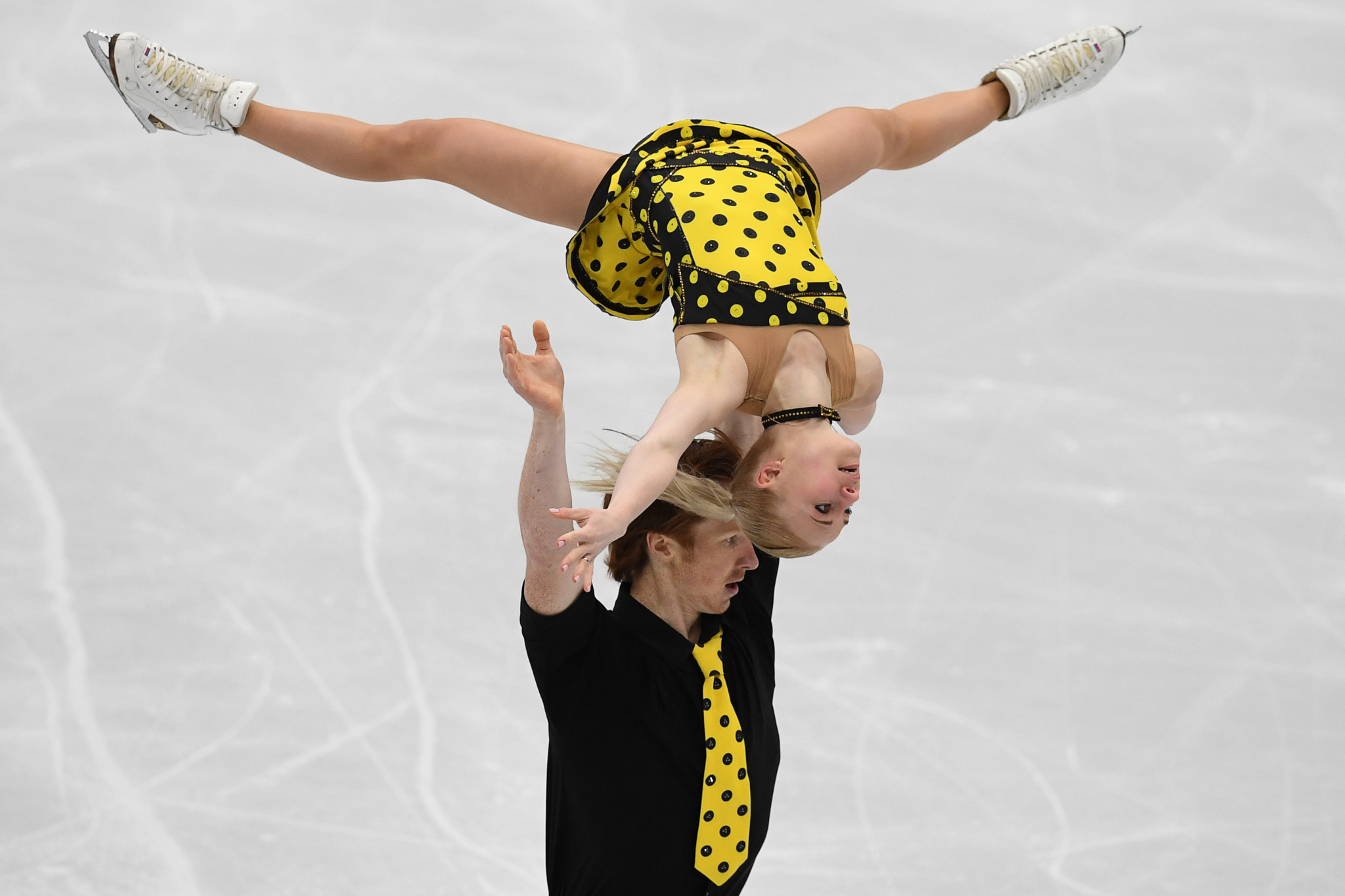 Morozov and Evgenia Tarasova have won two European pairs titles ©Getty Images