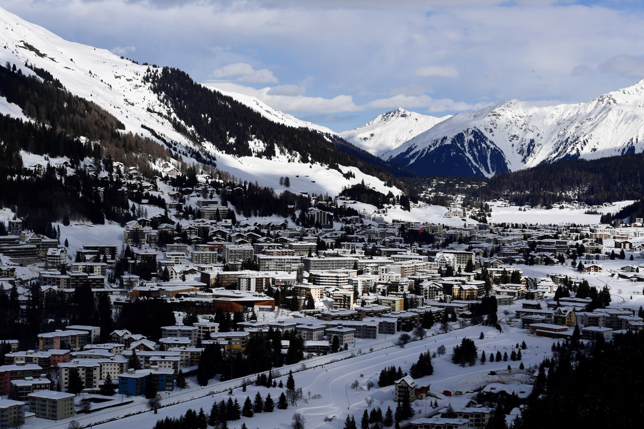A parallel event in the FIS Alpine Ski World Cup in Davos has been postponed until 2022 ©Getty Images