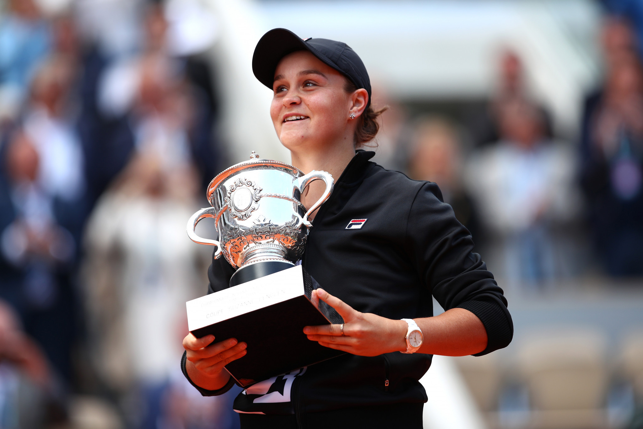 Ashleigh Barty has decided not to defend her French Open title due to COVID-19 concerns ©Getty Images