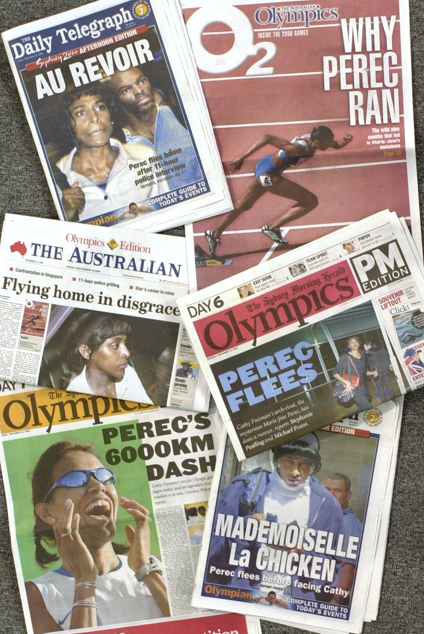 Cathy Freeman's greatest rival, France's defending Olympic 400m champion Marie-José Pérec, fled Sydney 2000 before the event had even started claiming she was the victim of an unfair campaign of dirty tricks by the Australian media ©Getty Images