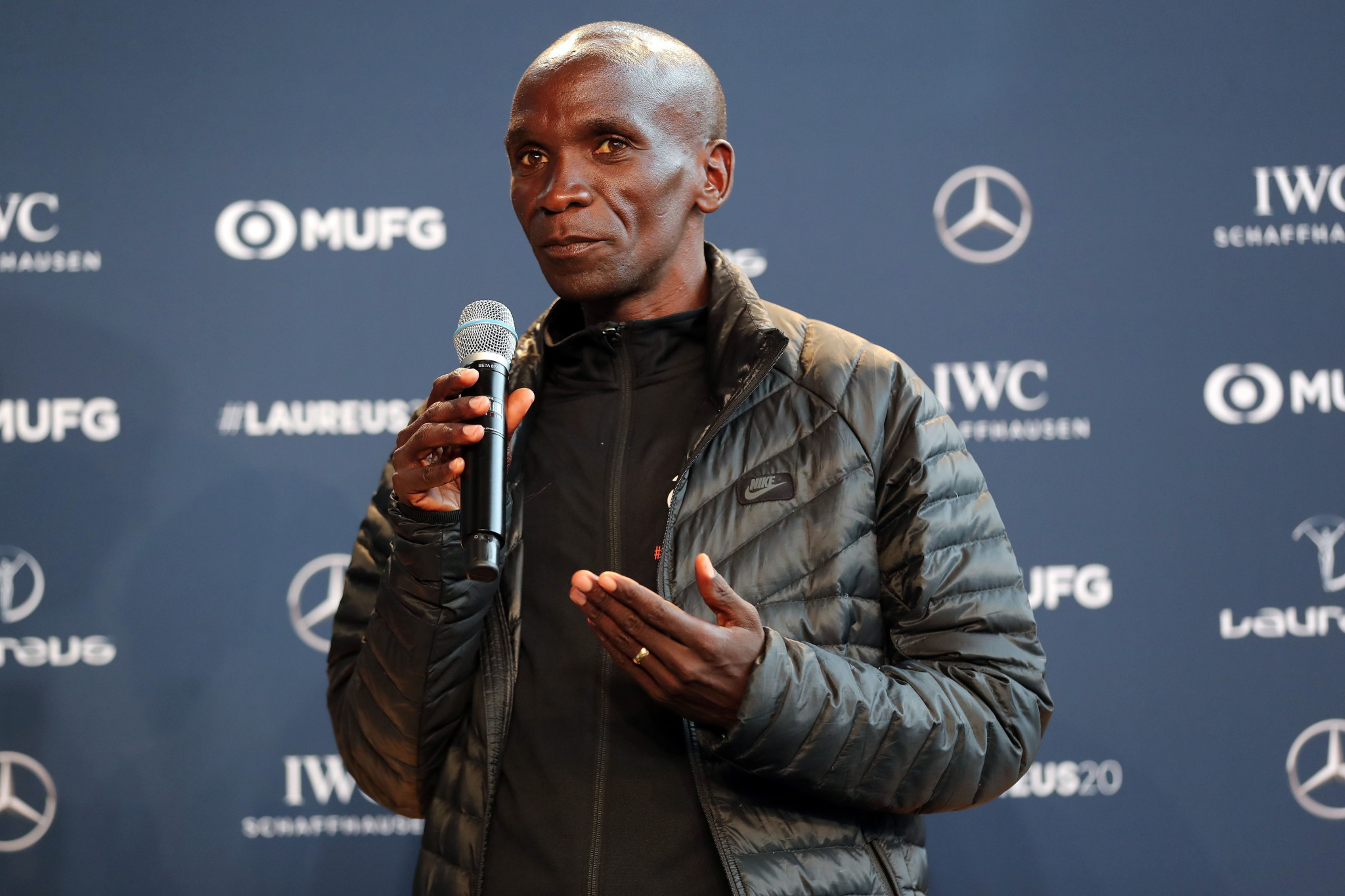 Marathon world record holder Kipchoge hopeful of competing at Tokyo 2020