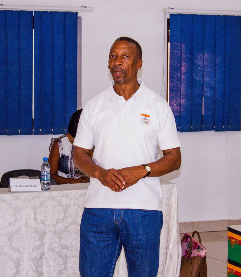 Boniface Kambikambi led cleaning activities to mark the occasion ©NOCZ