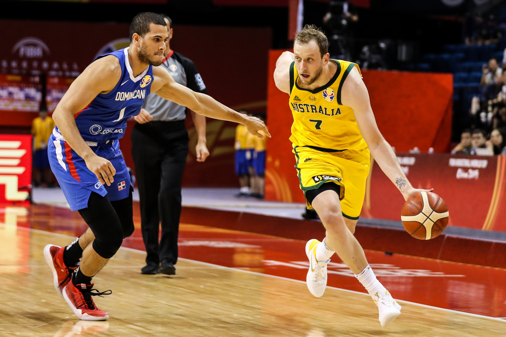 Joe Ingles, 32, is part of an experienced Australian team after bursting onto the scene at Beijing 2008 ©Getty Images