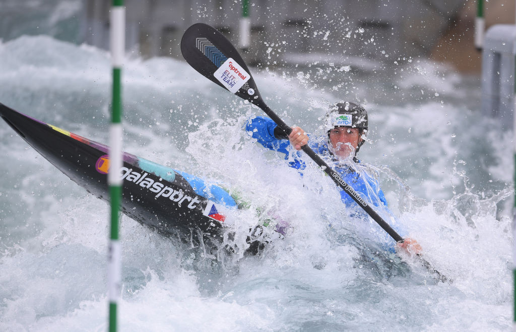 Former world champion Kudějová wins two gold medals at Canoe Slalom European Championships