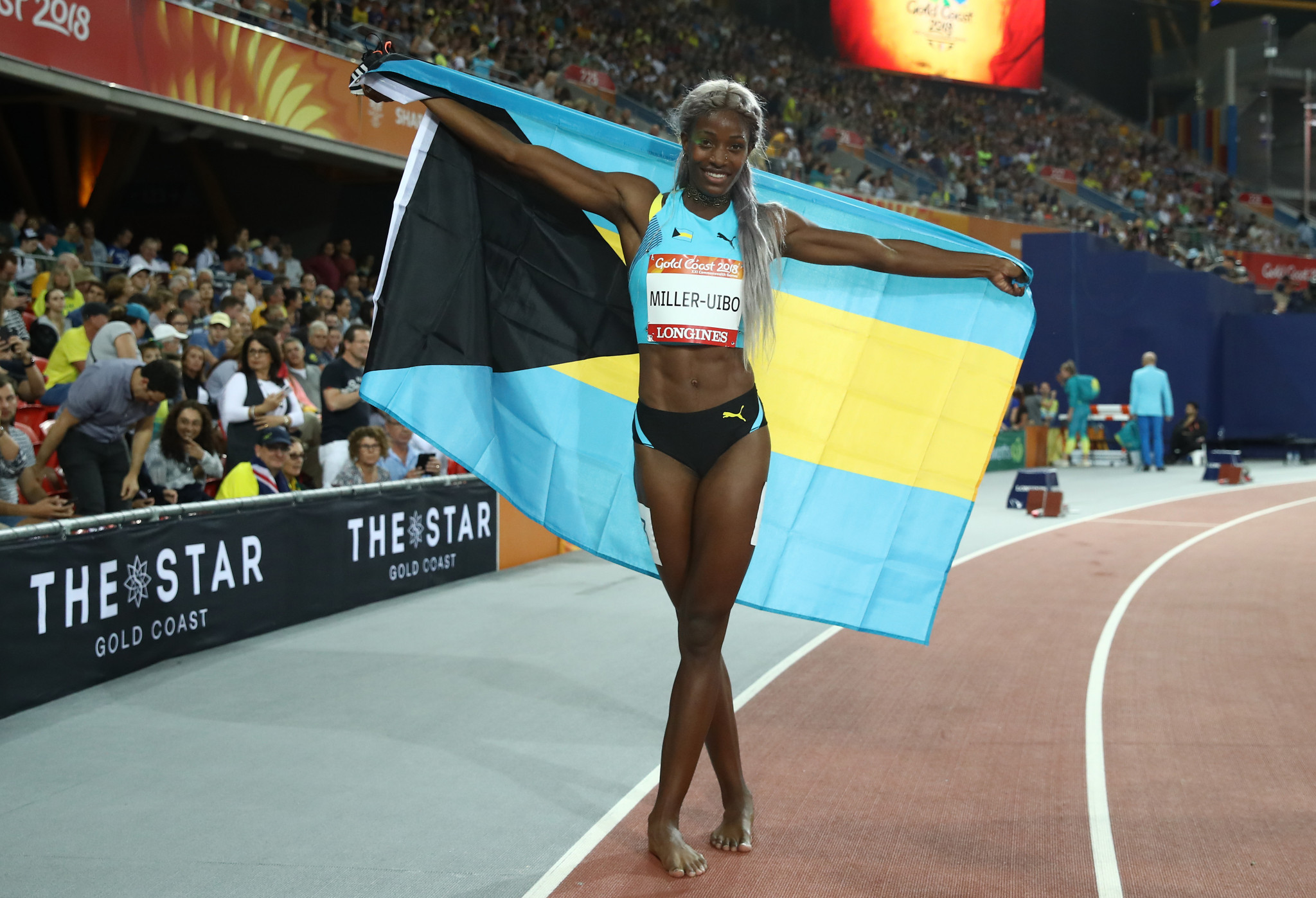 Shaunae Miller-Uibo is the Bahamas' key medal hope for next year's Olympic Games in Tokyo ©Getty Images
