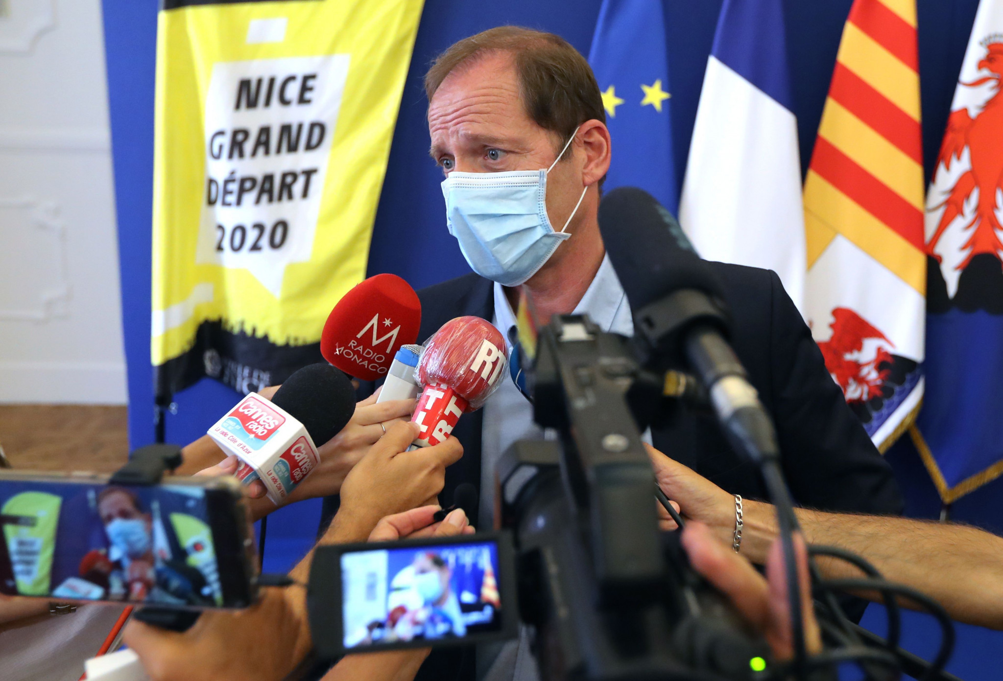 A victory to arrive in Paris, says Tour de France director Prudhomme as race concludes