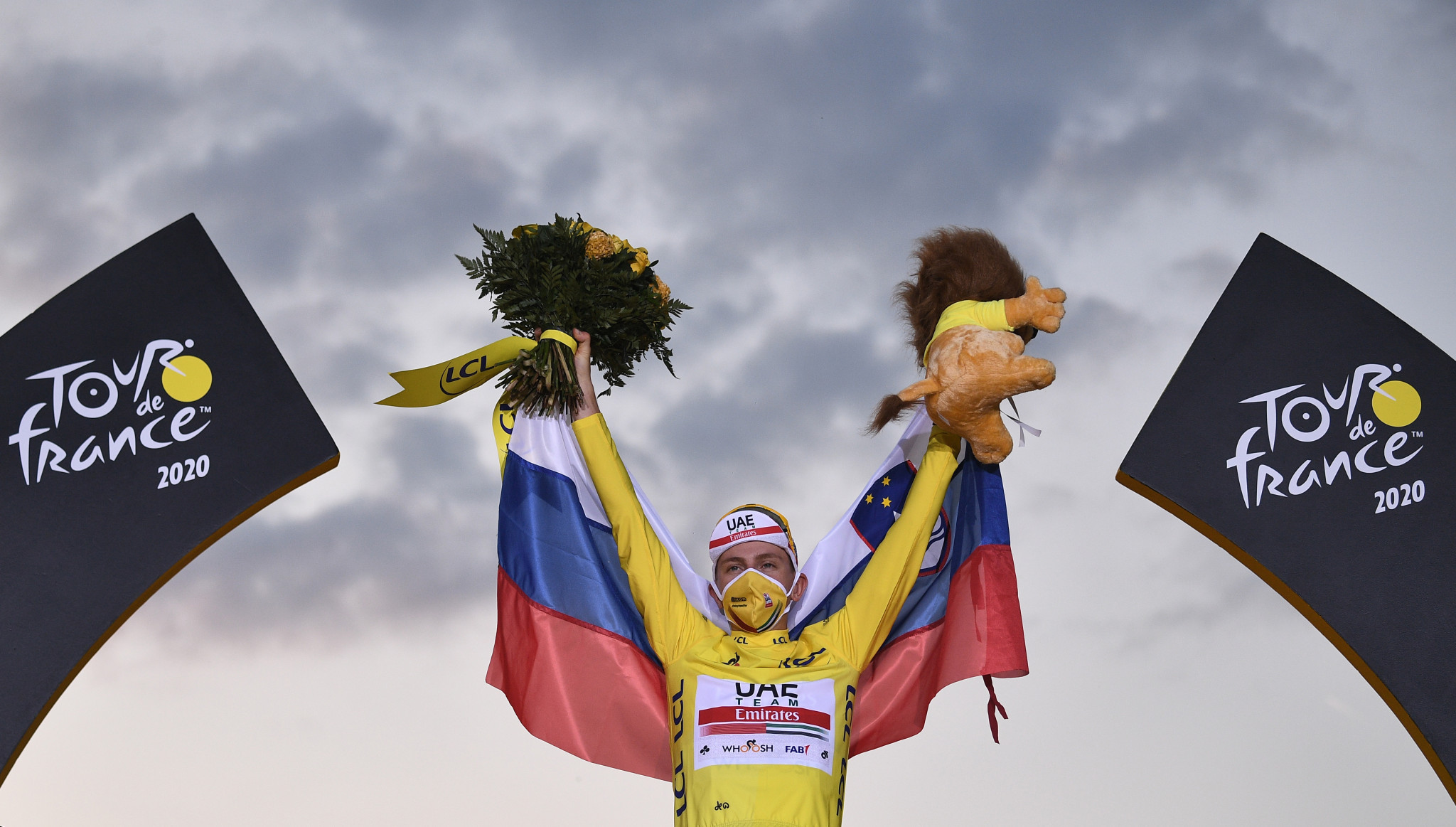 An inspired final time trial performance allowed Slovenia's Tadej Pogačar to earn an unexpected triumph in this year's Tour de France as he became the event's youngest winner since 1904 ©Getty Images
